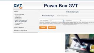 Powerbox 2764GV Pace 5350 - PPPoE pela Ethernet