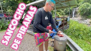 Cocinando Y Atrapando Pirañas En El Rio Con Jamsha
