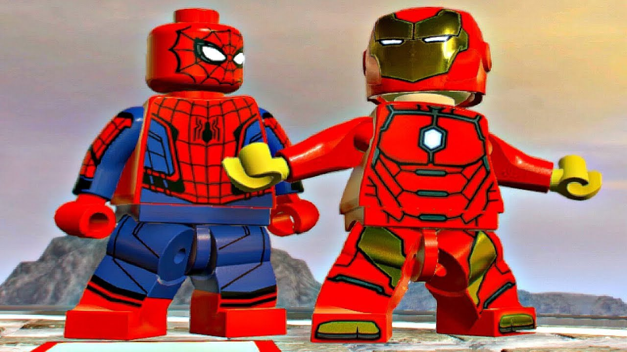Marvel Super Heroes 60 Superhéroes: IRON MAN & SPIDER-MAN Free