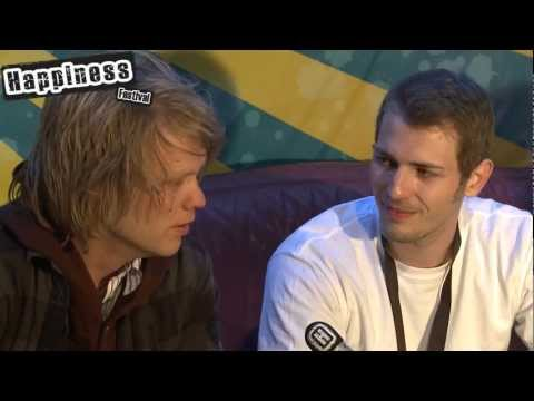 Interview Disco Ensemble auf dem Happiness Festival 2011