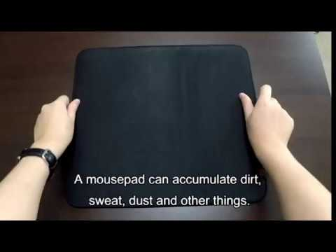 ZOWIE - Mousepad cleaning tips
