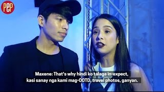 Robby Mananquil and Maxene Magalona relate how their engagement happened