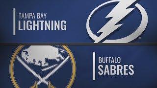 Баффало vs Тампа-Бэй | Tampa Bay Lightning at Buffalo Sabres | NHL HIGHLIGHTS | НХЛ ОБЗОР МАТЧА