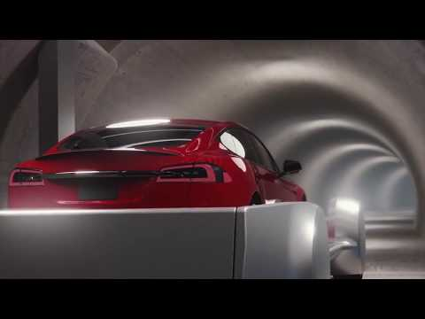 Elon Musk's Boring Company Takes You On A Ride Underground -- At 125 mph!