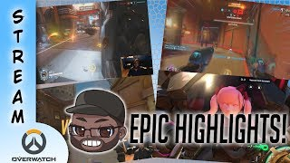 Cappy Streams Overwatch: Epic and Funny Moments! #2