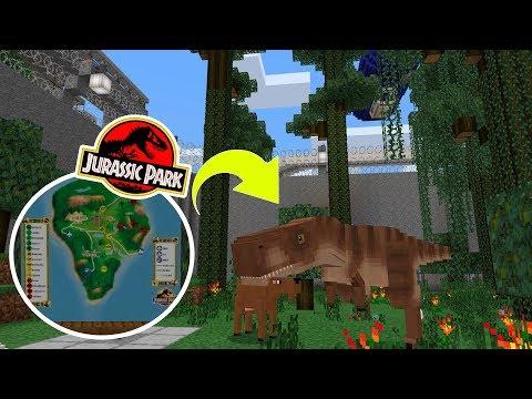 ПАРК ЮРСКОГО ПЕРИОДА в Minecraft PE 1.11.0.9 (ЧАСТЬ #2)