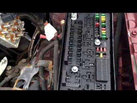 2003 Saab 9-3 Fuse Box Location Under Hood - YouTubeYouTube