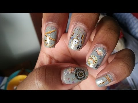 Sailor Water Decal Nails: BPS Review