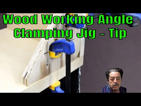 Wood Working Jig DIY - Angle Clamping With Irwin Clamps
