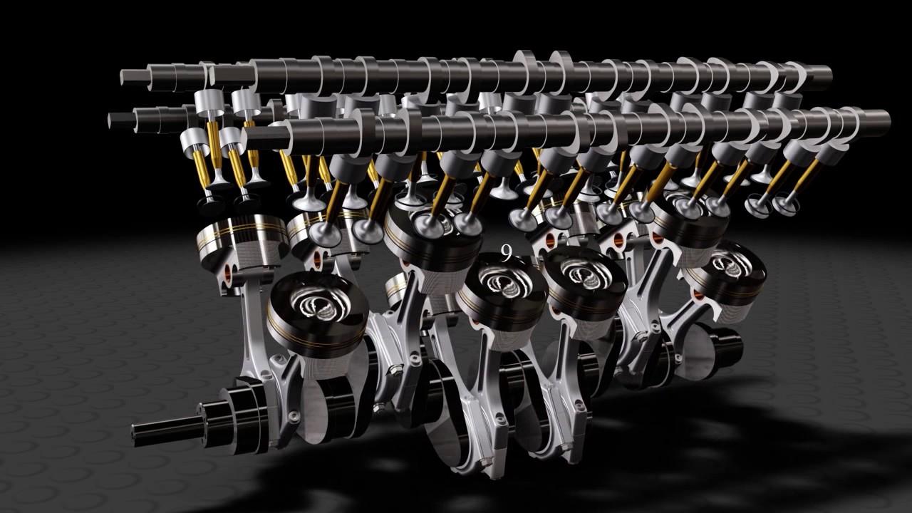 V12 Engine Firing Order Youtube