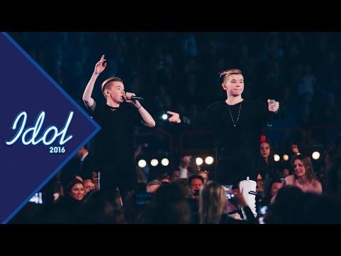 Marcus och Martinus framträder under Idolfinalen  - Idol Sverige TV4