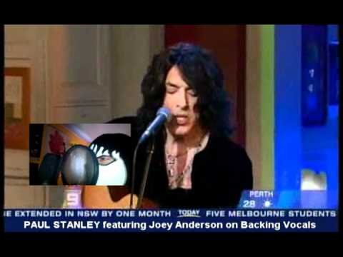 Paul Stanley singing SHANDI with Joey Anderson on Backing Vocals