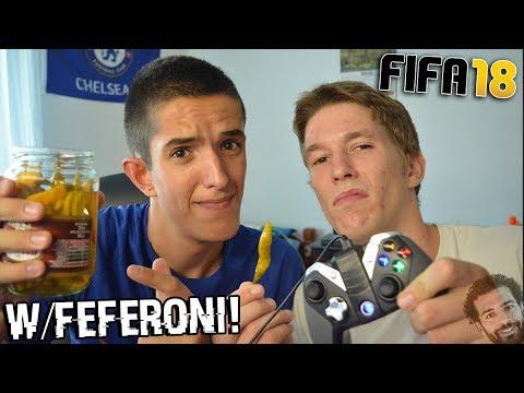 IGRAMO FIFU 18!? w/Feferona Challenge!