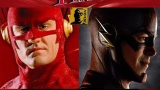 The Flash 1990 vs The Flash 2014 Mashup (AMASF)