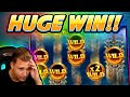 INSANE HIGH-LIMIT JACKPOTS! 💰 Almost ONE HOUR of Golden ...