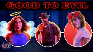 Stranger Things Characters: Good to Evil