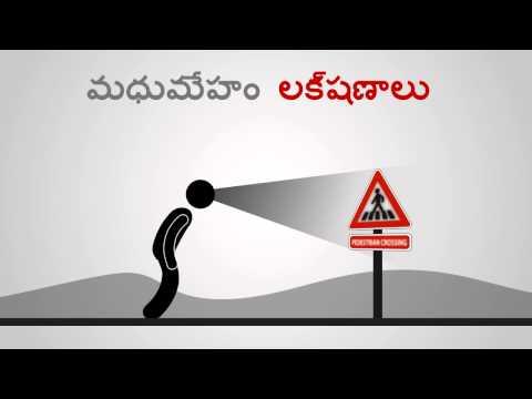 Diabetes - Symptoms - Telugu