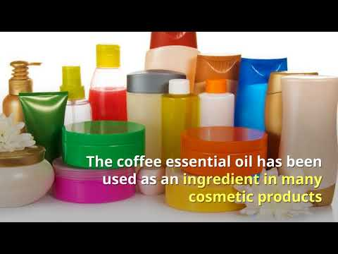 Coffee Essential Oil for Refreshing, Relaxing, and Skin Cell Nutrition