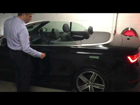 2016 Audi A3 Cabrio Roof opperation with key