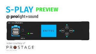 S-PLAY preview @ Prolight + Sound 2019