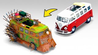 Craziest Transformation Of The Miniature Volkswagen