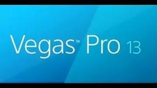 Как монтировать видео в Sony Vegas Pro 13.0 ( для новичков)
