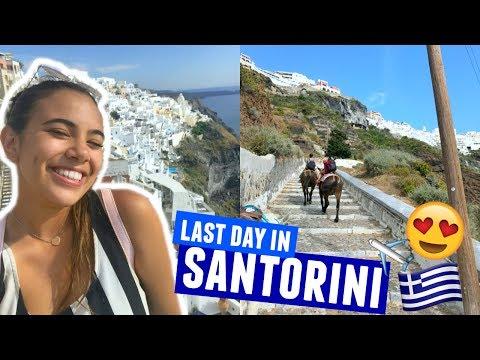 LAST DAY IN SANTORINI | Greece Traveling Day 9!