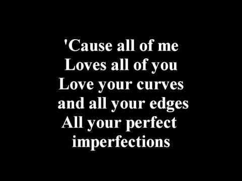 John Legand - All Of Me Lyrics