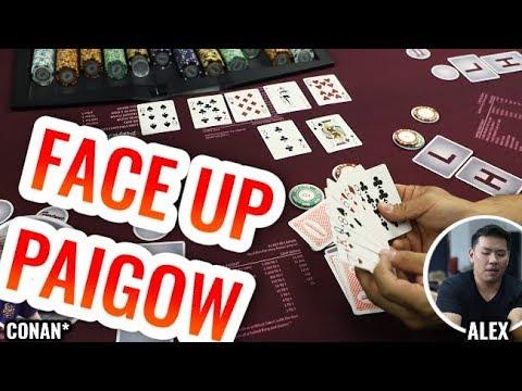 FACE UP Paigow Poker +Celebration - Live Paigow Poker #2