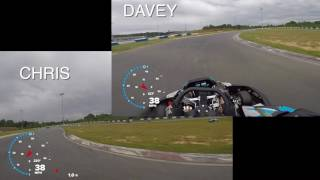 GoProMotorplex - Chris Davey Fastest Lap Comparison