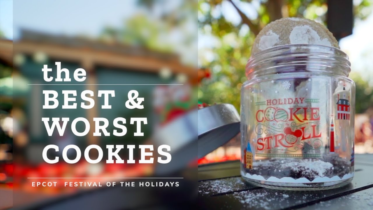 The Best & Worst Cookies at Epcot Festival of the Holidays
