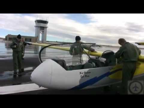Air Force Academy Glider Program USAFA.avi