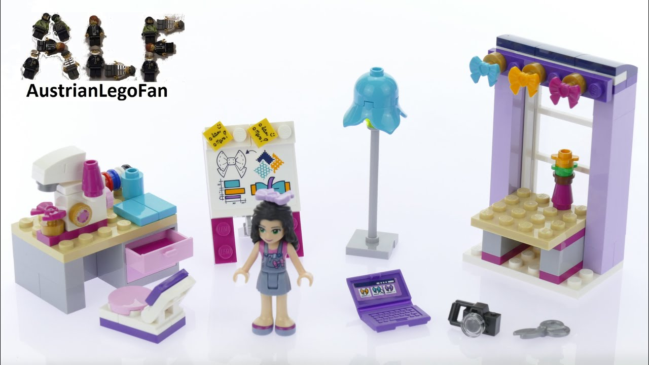 How To Build Lego Friends Emma S Creative Workshop