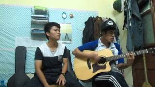 GÁNH HÀNG RAU - Thành An ft Hoàng Khánh Guitar cover