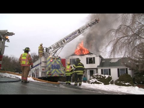 2nd Alarm; House Fire 4618 Steven Lane, Lehigh Township, PA | 02.01.15