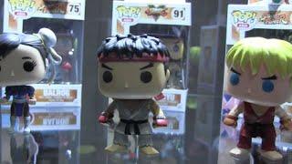 Capcom E3 Booth- Street Fighter POP, Mega Man Action Figures & Toys