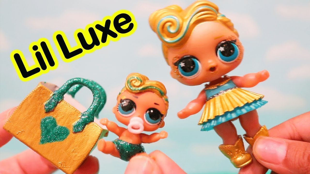 LUXE Gets Sister Toys And Dolls Fun Making DIY Custom
