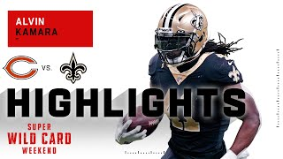 Alvin Kamara Does 'All That' on His Way to 116 Total Yds