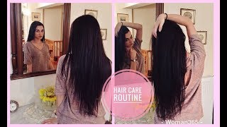 My Hair Care Routine | Πως μάκρυνα τα μαλλιά μου | Woman365