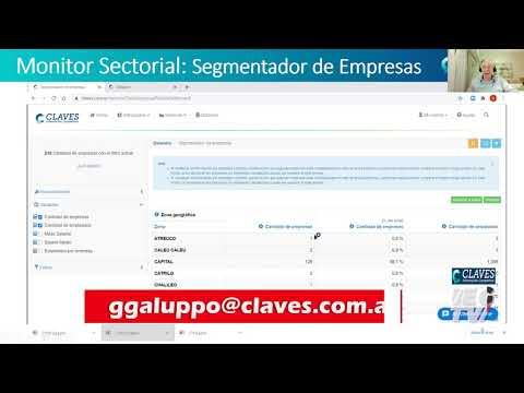 ¿Cómo funciona el segmentador de empresa de Claves?