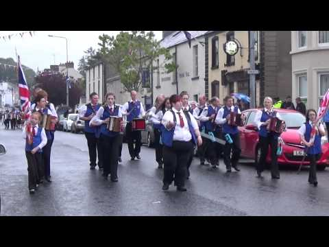 Teemore Accordion Band @ Brookeborough District Parade 2015 (2)