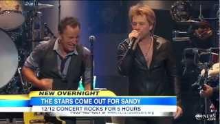 12-12-12 Concert Recap Jagger, Springsteen, Clapton, Kanye West, Alicia Keys, Bon Jovi