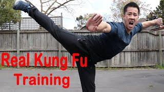 Shaolin Kung Fu Wushu Butterfly Kick Training For Beginners