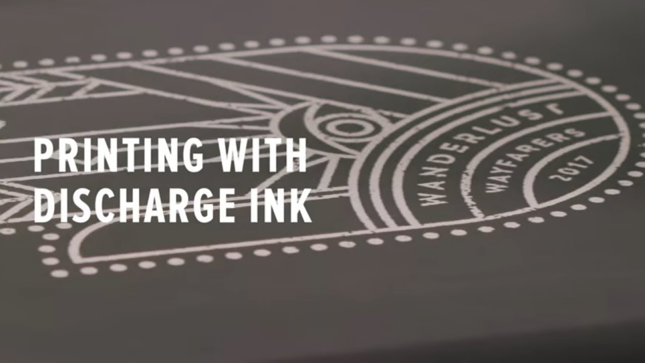 cbeec007 Discharge Screen Printing — What you need to know about Discharge ...