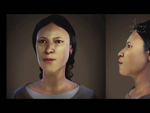 Pumapungo: Recrean rostro de mujer de hace 500 años