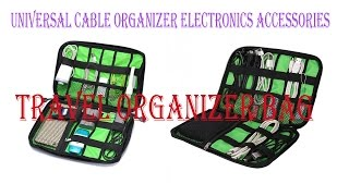 Universal Cable Organizer | Electronics Accessories bag| 💼💼