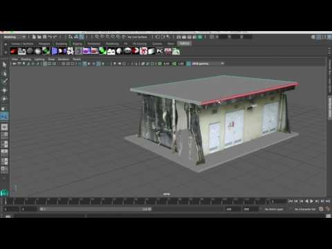 Forum 8 Tutorial Cleaning up Photogrammetry Data Using Maya and simple steps to Build a Final Model