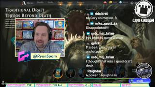 Theros Beyond Death Draft #2 - Early Access Streamer Event! WotC #Sponsored