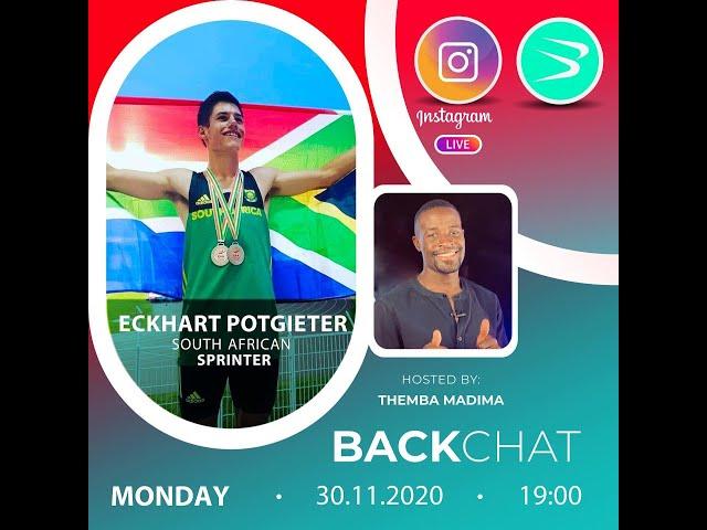 BackChat ep84 with Eckhart Potgieter