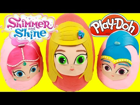 Shimmer and Shine Grant a Wish -  Leah Surprise Play-Doh Egg -  Shimmer and Shine Toys Paw Patrol